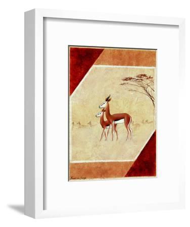 Africa I-Frank De Burgh-Framed Art Print