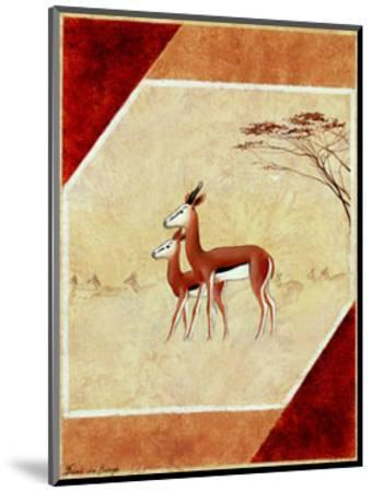 Africa I-Frank De Burgh-Mounted Art Print