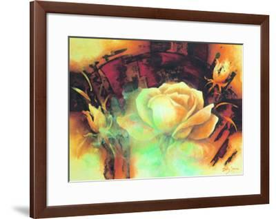 La Vie en Rose I-Betty Jansma-Framed Art Print