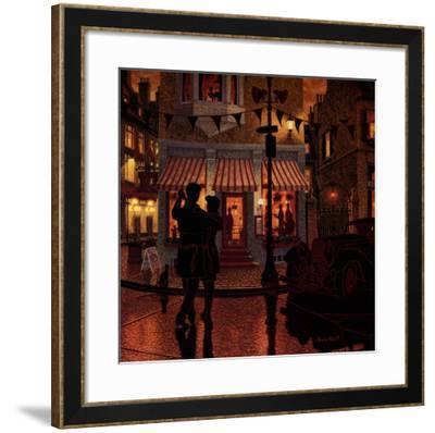 A l'Improviste-Denis Nolet-Framed Art Print