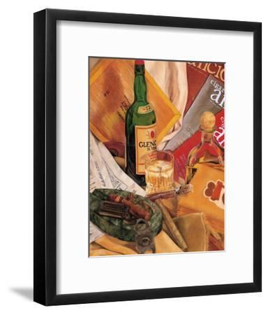 Jennifer's Scotch Indulgences I-Jennifer Goldberger-Framed Art Print