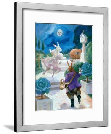 Cinderella Rabbit-Dot Bunn-Framed Art Print