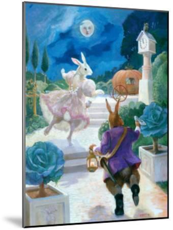 Cinderella Rabbit-Dot Bunn-Mounted Art Print