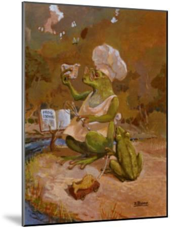 Frog Cookies-Dot Bunn-Mounted Art Print