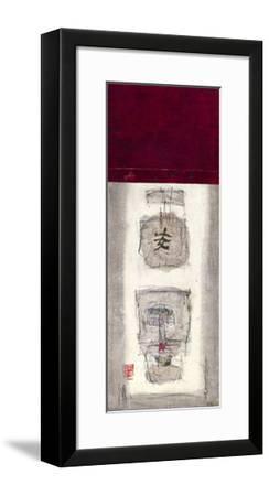 Mauro Tranquility Panel II-Mauro-Framed Giclee Print