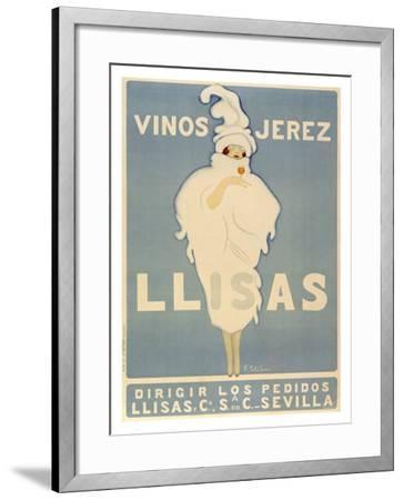 Vinos Jerez-Vinos Jerez Llisas-Framed Giclee Print