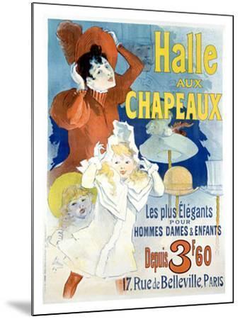 Halle aux Chapeaux, Depuis 3F60-Jules Ch?ret-Mounted Giclee Print