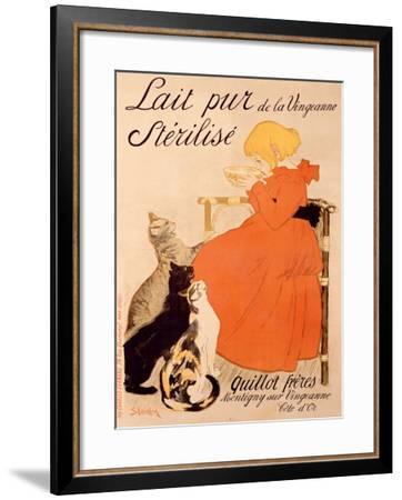 Lait Pur Sterilise Cats-Th?ophile Alexandre Steinlen-Framed Giclee Print