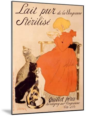 Lait Pur Sterilise Cats-Th?ophile Alexandre Steinlen-Mounted Giclee Print