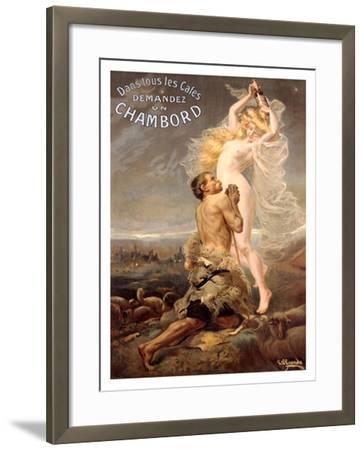 Chambord- Pinrrido-Framed Giclee Print