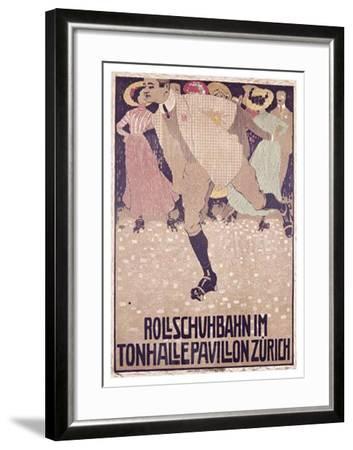 Rullschuhbahn-Burkhard Mangold-Framed Giclee Print