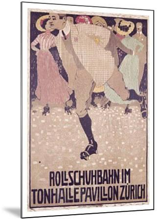 Rullschuhbahn-Burkhard Mangold-Mounted Giclee Print