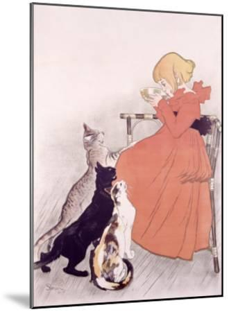 Lait Sterilise, 1896-Th?ophile Alexandre Steinlen-Mounted Giclee Print