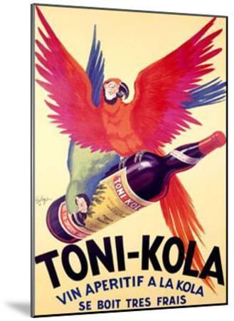 Toni-Kola-Robys (Robert Wolff)-Mounted Giclee Print