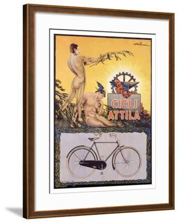 Cicli Attila-Pomi-Framed Giclee Print
