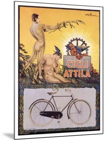 Cicli Attila-Pomi-Mounted Giclee Print