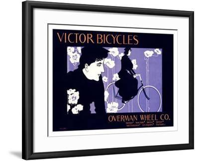 Victor Bicycles-William H^ Bradley-Framed Giclee Print