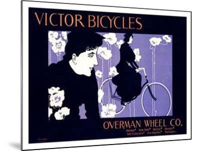 Victor Bicycles-William H^ Bradley-Mounted Giclee Print