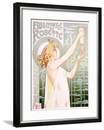 Absinthe Robette-Privat Livemont-Framed Giclee Print