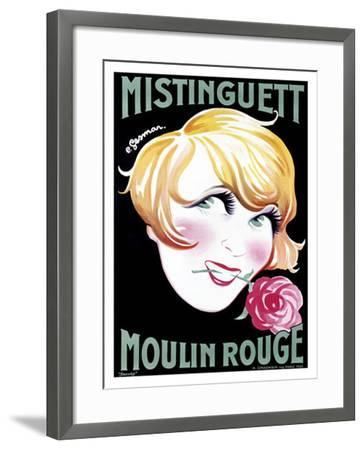 Mistinguett-Charles Gesmar-Framed Giclee Print