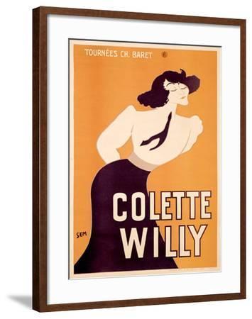 Colette Willy- Semenov-Framed Giclee Print