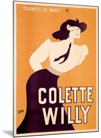 Colette Willy- Semenov-Mounted Giclee Print