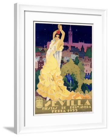 Sevilla-Estela-Framed Giclee Print