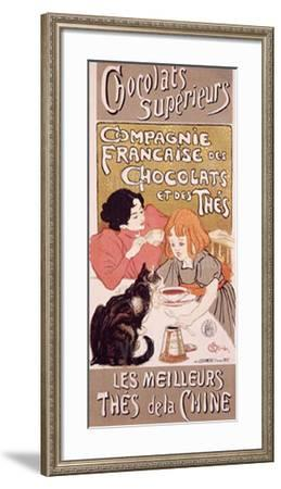 Chocolats et Thes-Th?ophile Alexandre Steinlen-Framed Giclee Print