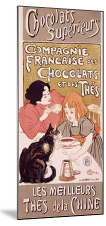 Chocolats et Thes-Th?ophile Alexandre Steinlen-Mounted Giclee Print