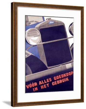 Ford--Framed Giclee Print