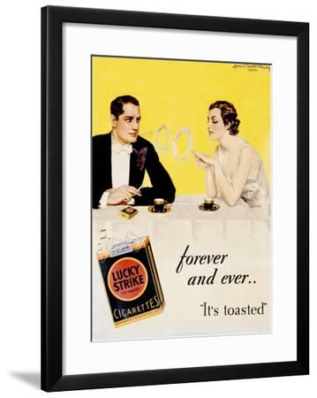 Lucky Strike Cigarette-Howard Chandler Christy-Framed Giclee Print
