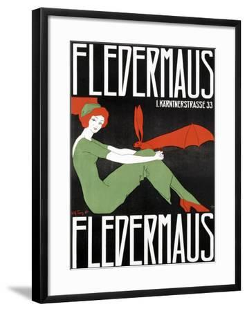 Fledermaus-Fritz Langer-Framed Giclee Print