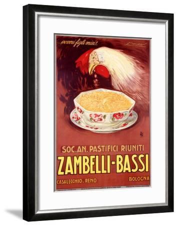 Zambelli-Bassi-Achille Luciano Mauzan-Framed Giclee Print