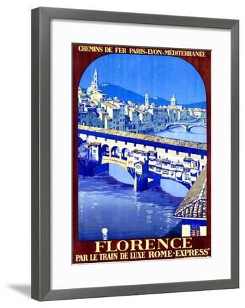 Florence-Roger Broders-Framed Giclee Print