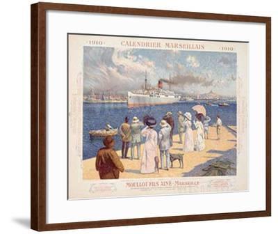 Moullot-David Dellepiane-Framed Giclee Print