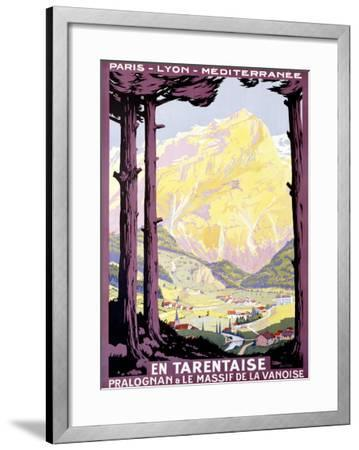 En Tartentaise-Roger Soubie-Framed Giclee Print