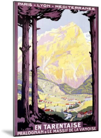 En Tartentaise-Roger Soubie-Mounted Giclee Print
