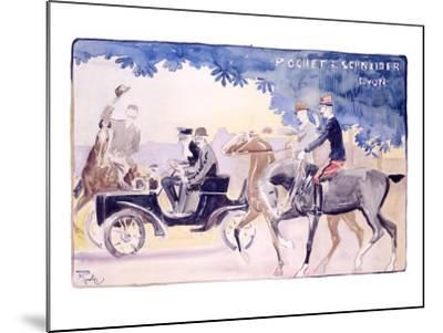 Rochet and Schneider-Maurice Romberg-Mounted Giclee Print