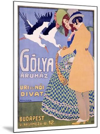 Golya-Geza Farago-Mounted Giclee Print