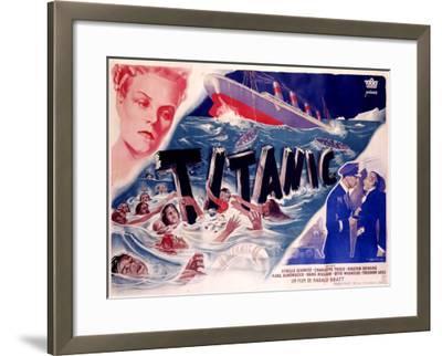 Titanic--Framed Giclee Print