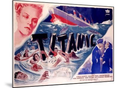 Titanic--Mounted Giclee Print