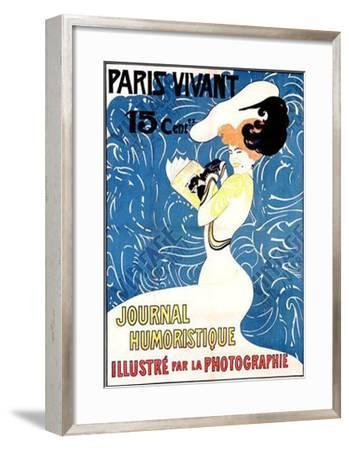 Paris Vivant- Petitjean-Framed Giclee Print