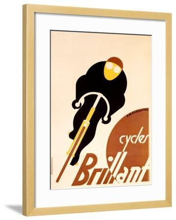 Cycles Brillant-Adolphe Mouron Cassandre-Framed Giclee Print