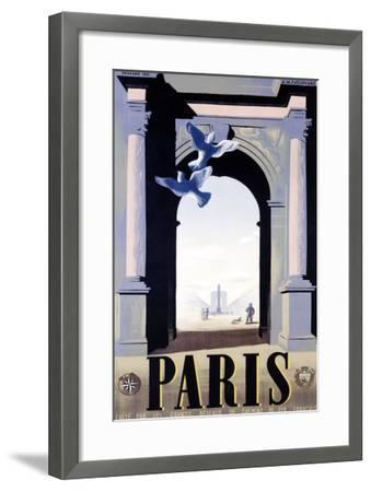 Paris-Adolphe Mouron Cassandre-Framed Giclee Print