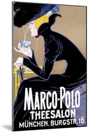 Marco Polo Tea Salon--Mounted Giclee Print