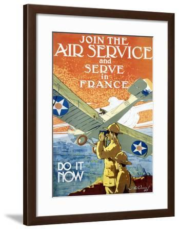 Join Air Service-Jozef Paul Verrees-Framed Giclee Print