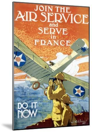Join Air Service-Jozef Paul Verrees-Mounted Giclee Print