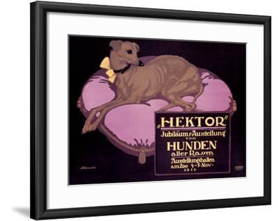 Hektor, Jubilaums-Austellung-Paul Scheurich-Framed Giclee Print
