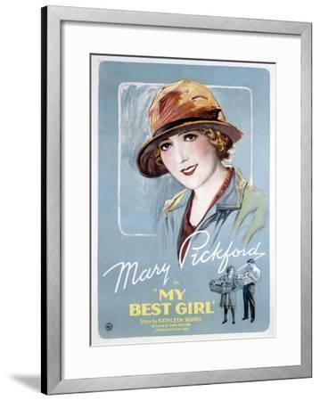 My Best Girl--Framed Giclee Print