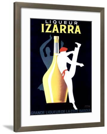 Liqueur Izarra-Paul Colin-Framed Giclee Print